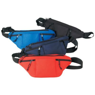 Wholesale Poly 4-Zipper Fanny Packs