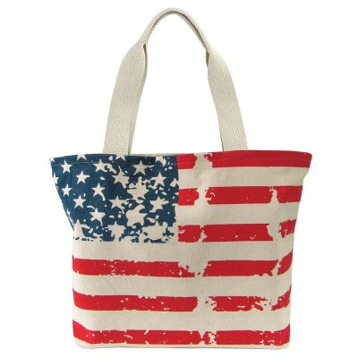 Worthy Stars & Stripes Tote Bag (25 Pack)