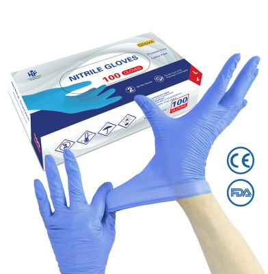 FDA Approved Disposable Nitrile Gloves (1000pcs)