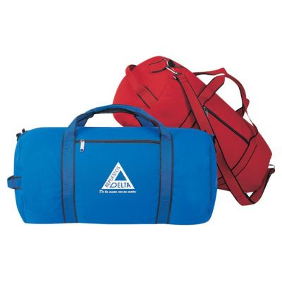 """22"""" Polyester Sport Roll Duffle Bag"""