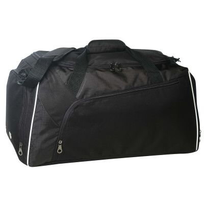 """23"""" Deluxe Polyester Duffel Bag with Shoe Storage"""
