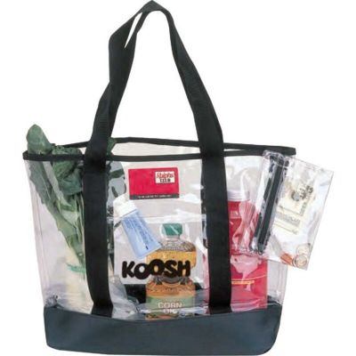 Clear Event Stadium Tote Bags