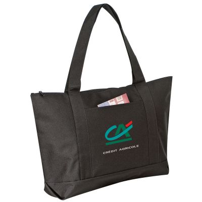 Wholesale Polyester Tote Bags with Zipper
