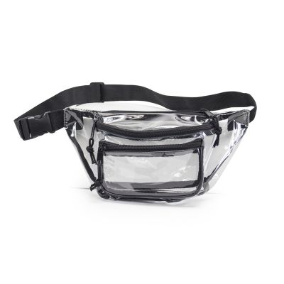 Clear Wholesale Fanny Packs - Three Pocket Bulk Fanny Packs | HP1105