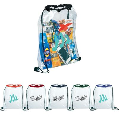 Rally Clear Drawstring Bag (50 Pack)
