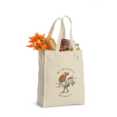 Recycled Cotton Market Bag (15.5 x 11 x 6)