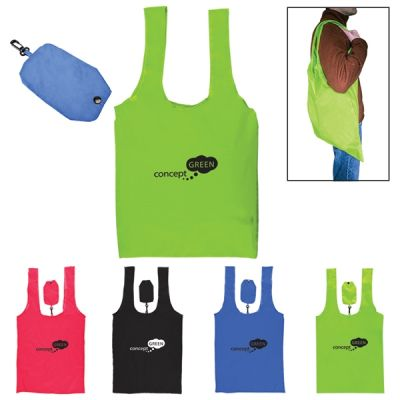 Jumbo Foldable Polyester Grocery Tote Bags