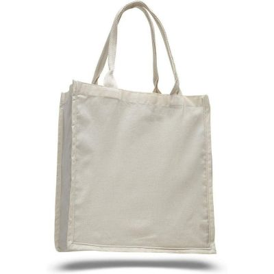 100% Cotton Swanky Shopper Tote Bags Wholesale