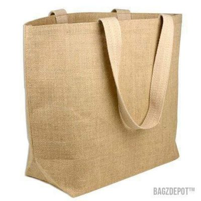 Large Jute Burlap Beach Tote Bags Wholesale