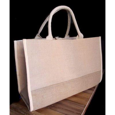 Heavy Duty Large Wholesale Jute Burlap Tote Bags
