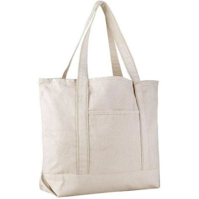 Wholesale Canvas Boat Tote Bags - Extra Large Canvas Tote Bags