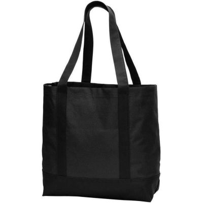 Wholesale Polyester Canvas Tote Bags w/ Gusset - BG406