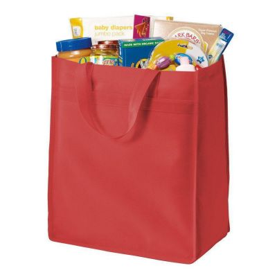Standard Polypropylene Stand Up Grocery Tote Bag - B159