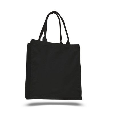100% Cotton Swanky Shopper Tote Bags Wholesale - Set of 12