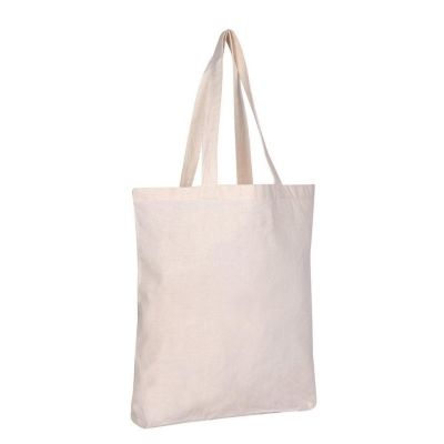 Wholesale Cotton Tote Bags with Bottom Gusset - Set of 12