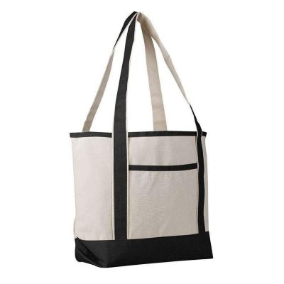Canvas Boat Tote Medium - Set of 12