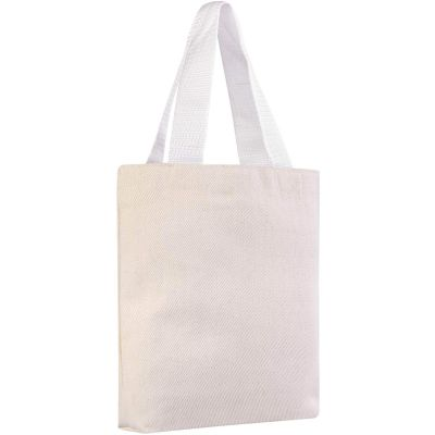 Canvas Mini Gift Tote Bags, Party Favor Bags in Bulk