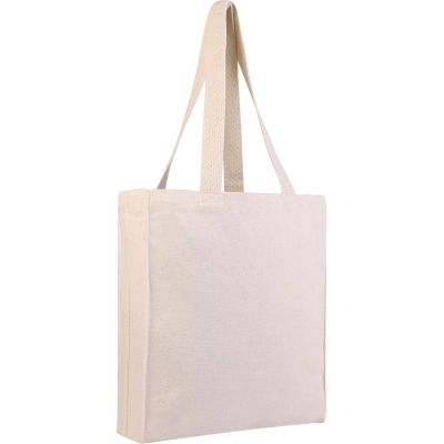 Wholesale Canvas Tote Bag - Book Bag with Gusset