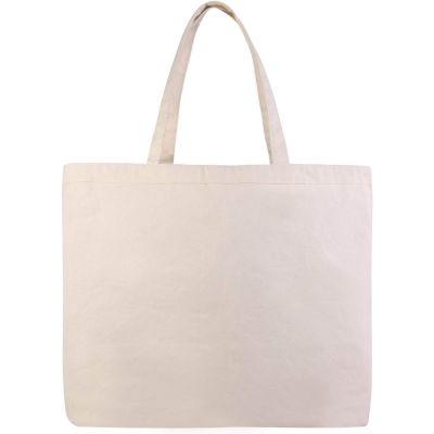 Extra Large Canvas Tote Bags Wholesale w/ Hook and Loop Closure