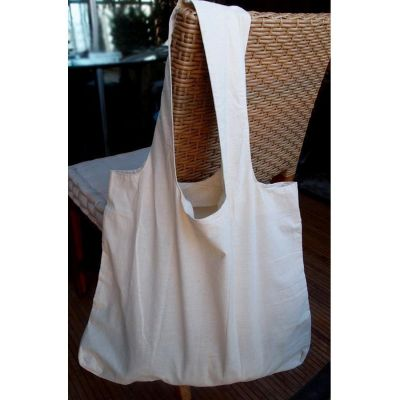 Natural Organic Cotton Tote Bags - Stow-N-Go Tote Bag - TB130