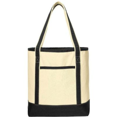 Port Authority® Large Cotton Canvas Boat Tote. BG413