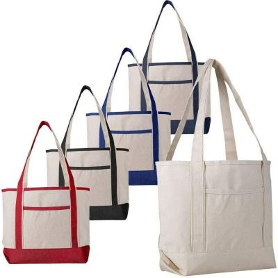 Heavy Duty Wholesale Canvas Boat Tote Bags - Medium