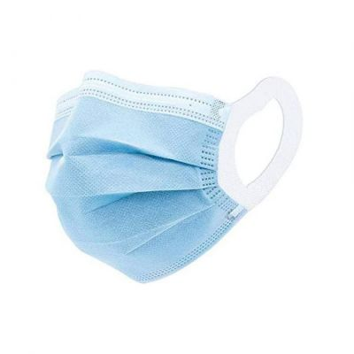 50 Pack Blue 3PLY Disposable Face Masks