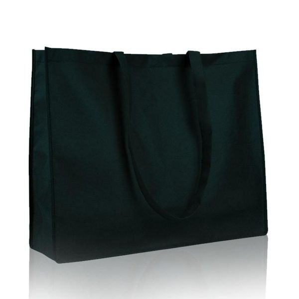 Large Non Woven Bags - Wholesale Cheap Tote Bags w/ Gussets - Q126600