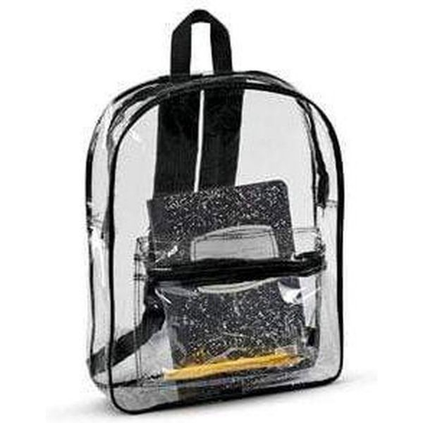 Liberty Bags Clear Backpack - 7010