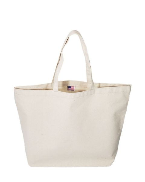 Large Made in USA Canvas Tote Bags