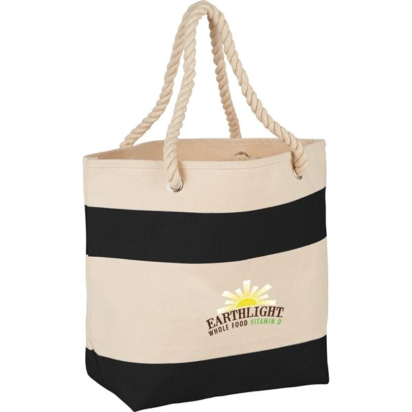 Rope Handle Sturdy Canvas Tote Bags