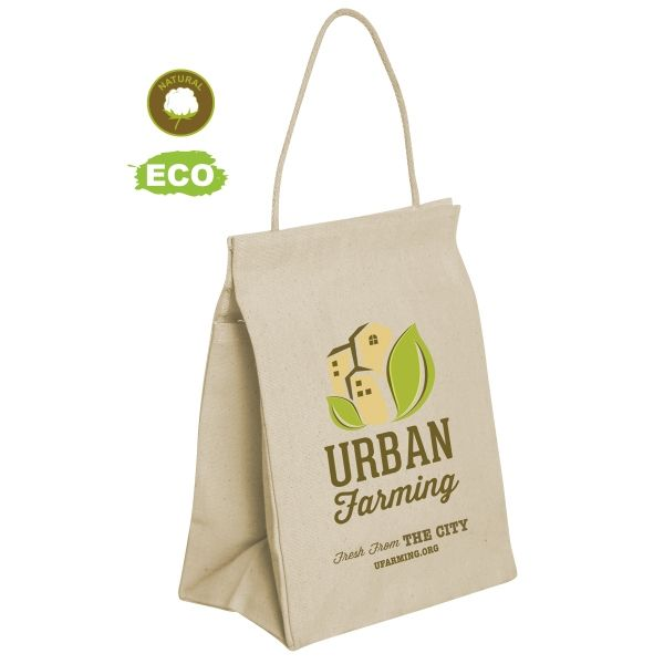 Custom Printed Cotton Lunch Bags