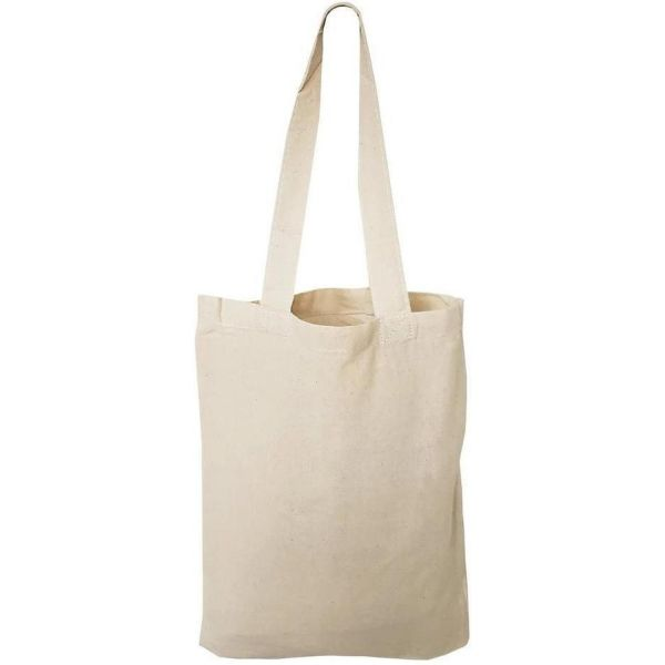Small Cotton Canvas Tote Bags Bulk | Blank Mini Gift Tote Bags