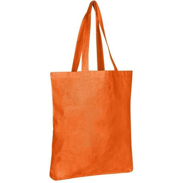 Wholesale Cotton Tote Bags with Bottom Gusset