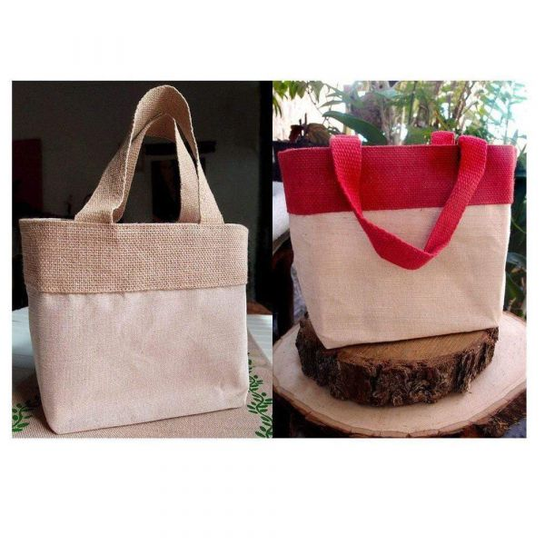 Wholesale Jute Burlap Bags with Cotton Blend and Inner Lining