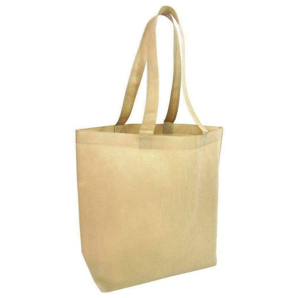 Promotional Non-Woven Large Size Tote Bags with Bottom Gusset - NTB25