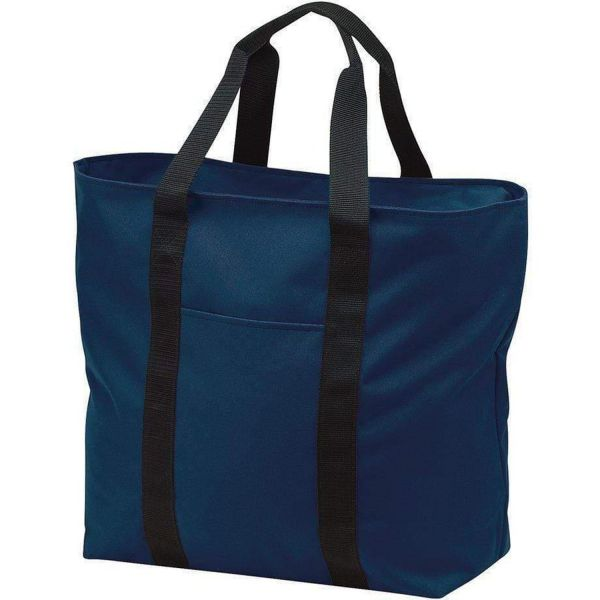Budget All-Purpose Large Polyester Canvas Tote Bag - B5000