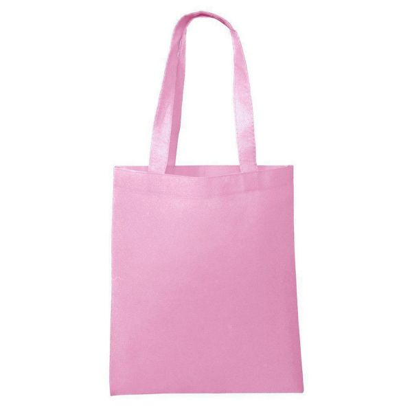 Cheap Non-Woven Wholesale Promotional Tote Bags in Bulk - Set of 50