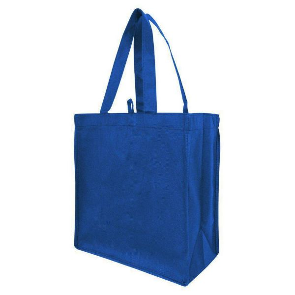 Budget Friendly Non-Woven Tote Bags with Gusset - Set of 50