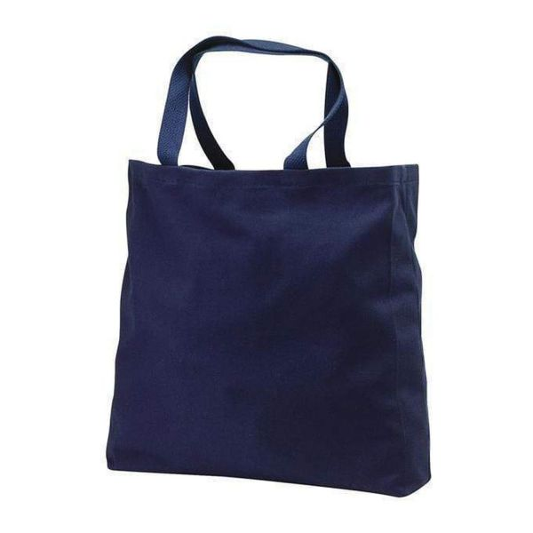 Heavy Duty Cotton Washed Denim Event Tote Bag - Set of 12