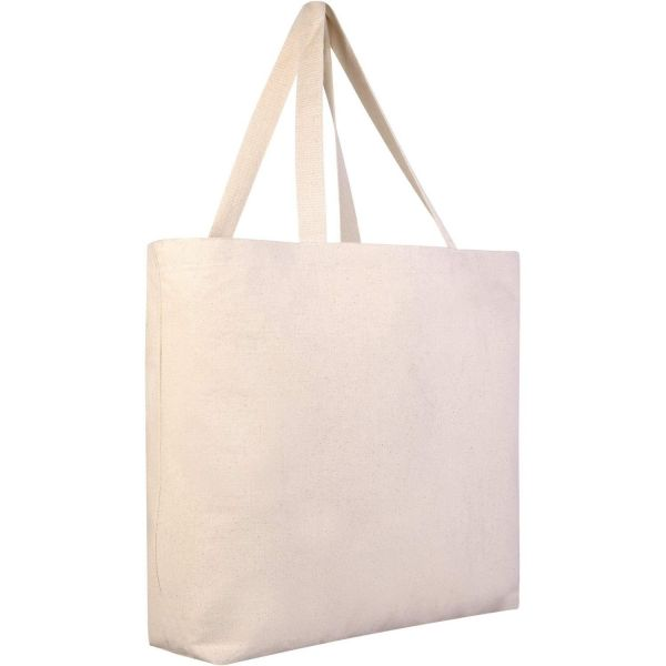 Sturdy Wholesale Canvas Tote Bags in Bulk - Large