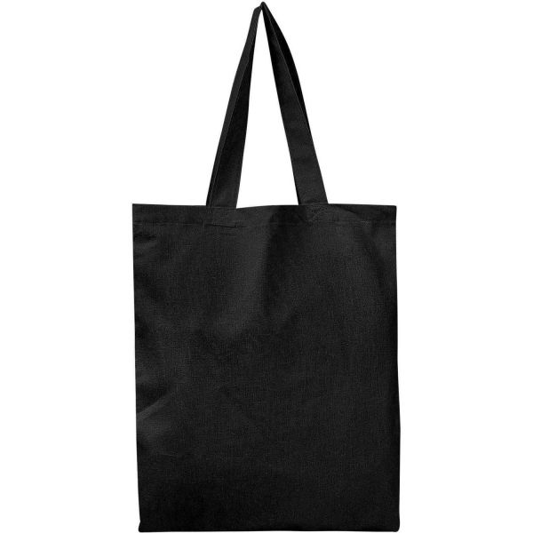 Set of 100 - Cotton Tote Bags in Bulk Wholesale Blank Bags - BTB100