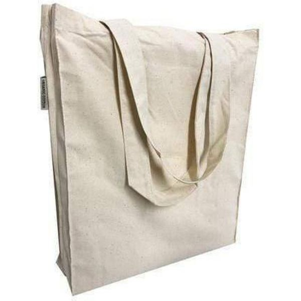 Organic Cotton Book Bags w/ Full Gusset - TF115