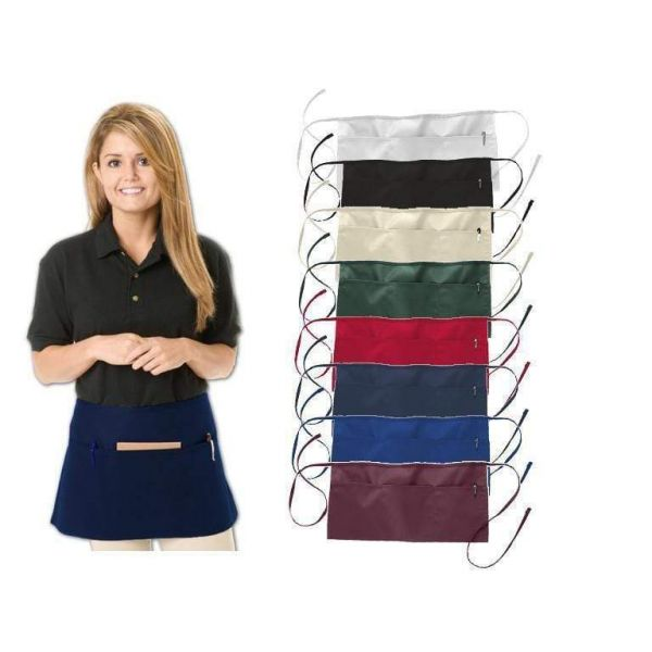 Wholesale Waist Twill Aprons Three Pocket - 12 Pack - Q2115