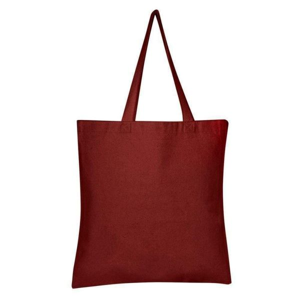 Heavy Duty Promotional Canvas Tote Bags Bulk - Set of 12